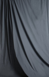 Solid Gray Muslin Photography Backdrop