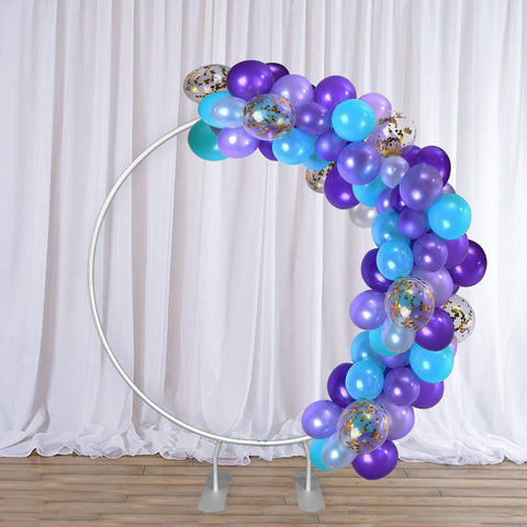 Circular Backdrop Stand ( Diameter 2m) for Wedding & Birthday Parties Decorations