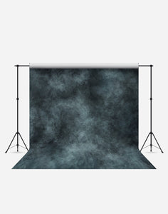 Blue Wash Cloudy Fashion Wrinkle Resistant Backdrop