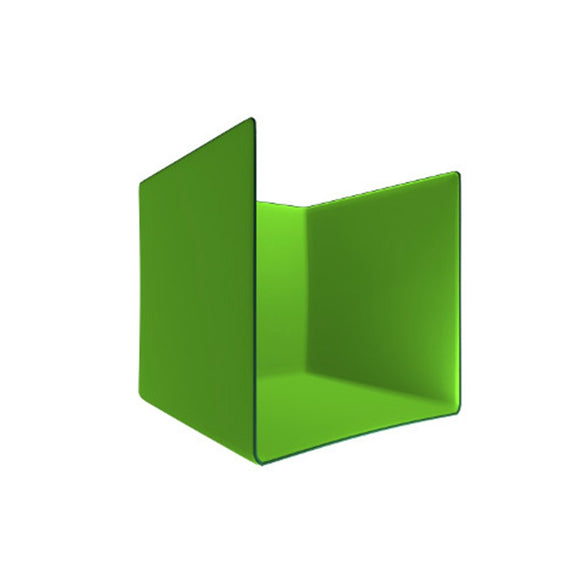 U Shaped Chroma Green Photo Booth ( Covers 3 Walls/ Sides)
