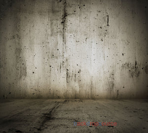 Grey Stained Baseboard Print Photography Backdrop