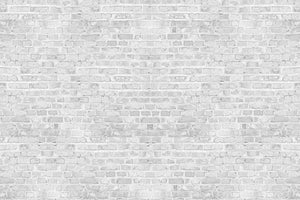 White Gray Brick Wall Backdrop
