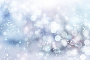 Winter Bokeh Print Photography Backdrop