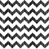 Black and White Scratched Chevron Print Photography Backdrop