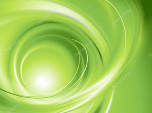 Green Abstract Swirl Print Photography Backdrop