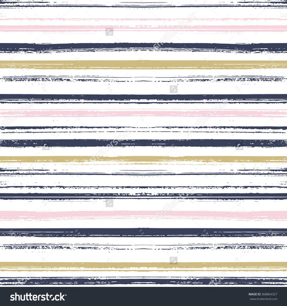 Hand Drawn Stripe Print Photography Backdrop