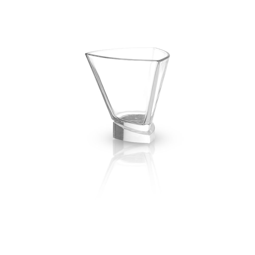 Aqua Vitae<br/>Triangle Crystal Martini Glasses<br/>Set of 2