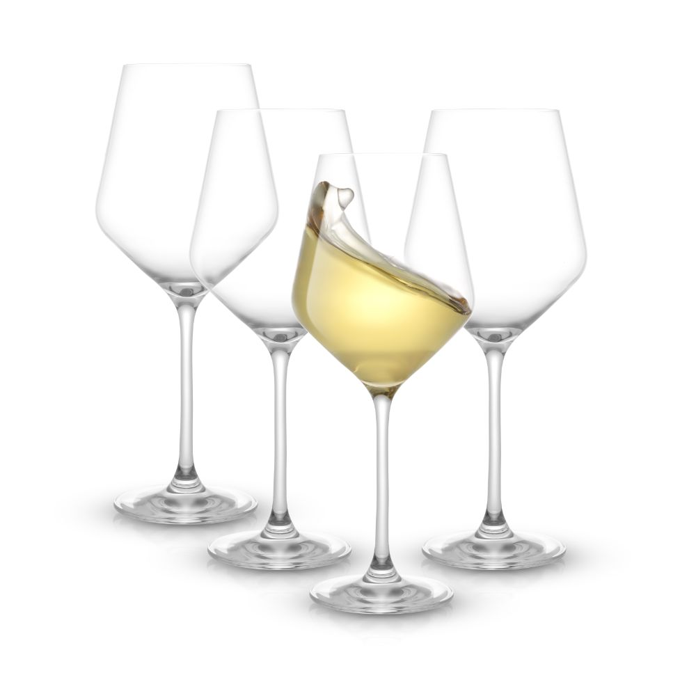 Layla White Wine Glasses Set of 4
