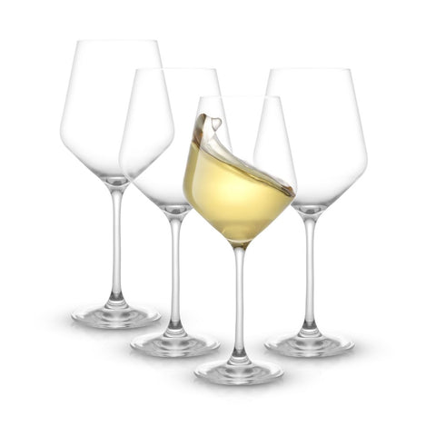 Layla<br/>White Wine Glasses<br/>Set of 4