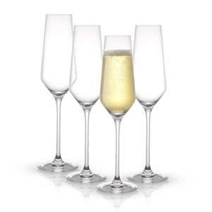 Layla Champagne Glasses Set of 4