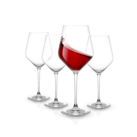 Layla Red Wine Glasses Set of 4