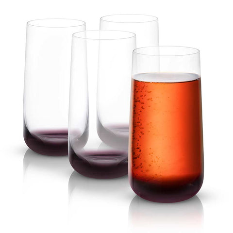 Black Swan<br/>Highball Glasses<br/>Set of 4