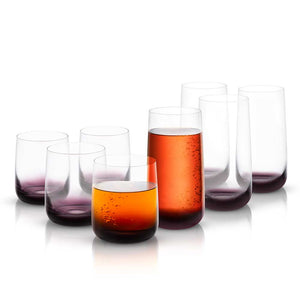 Black Swan Drinkware Set Set of 8