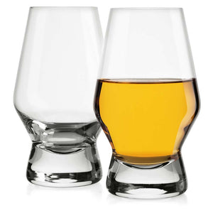 Halo Snifter Whiskey Glasses Set of 2