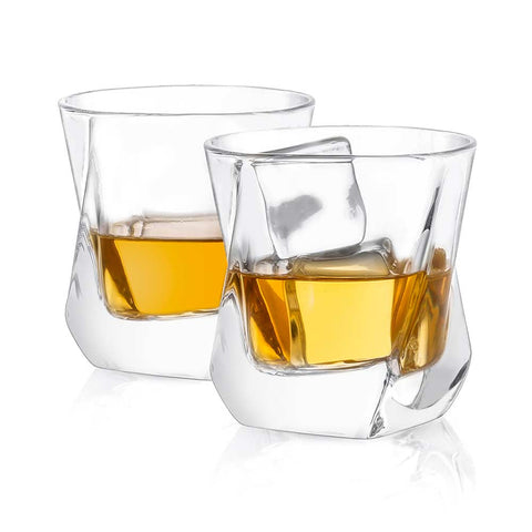 Aurora<br/>Whiskey Glasses<br/>Set of 2