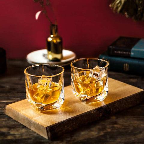 Aurora Whiskey Glasses Set of 2