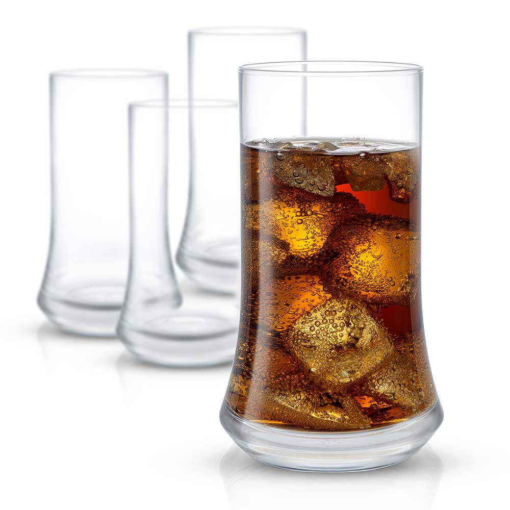 Cosmos<br/>Highball Glasses<br/>Set of 4