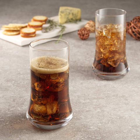 Cosmos Highball Glasses Set of 4