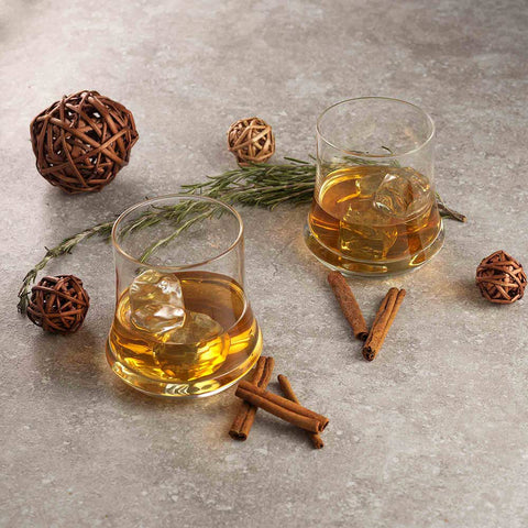 Cosmos Whiskey Glasses Set of 2