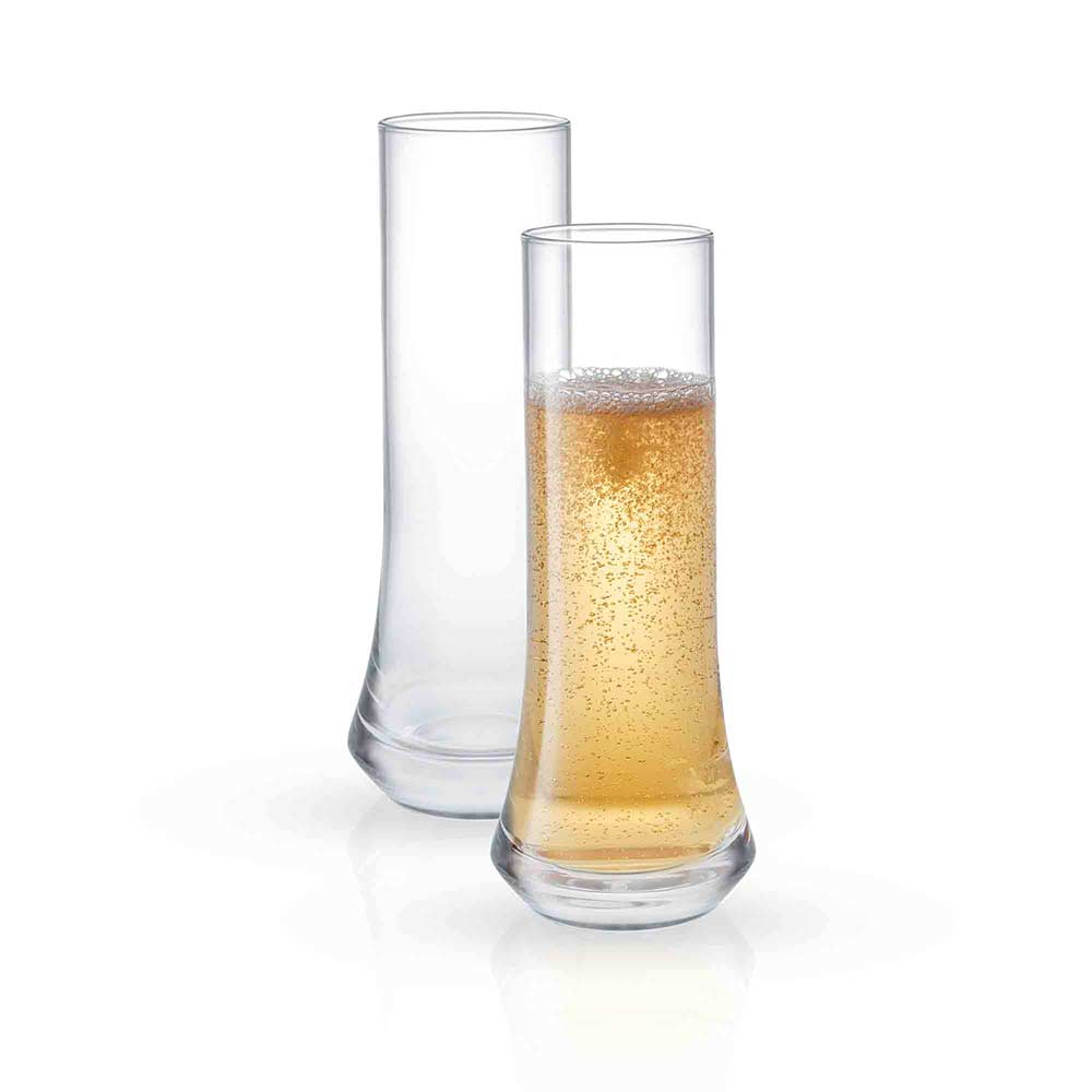 Cosmos<br/>Champagne Glasses<br/>Set of 2