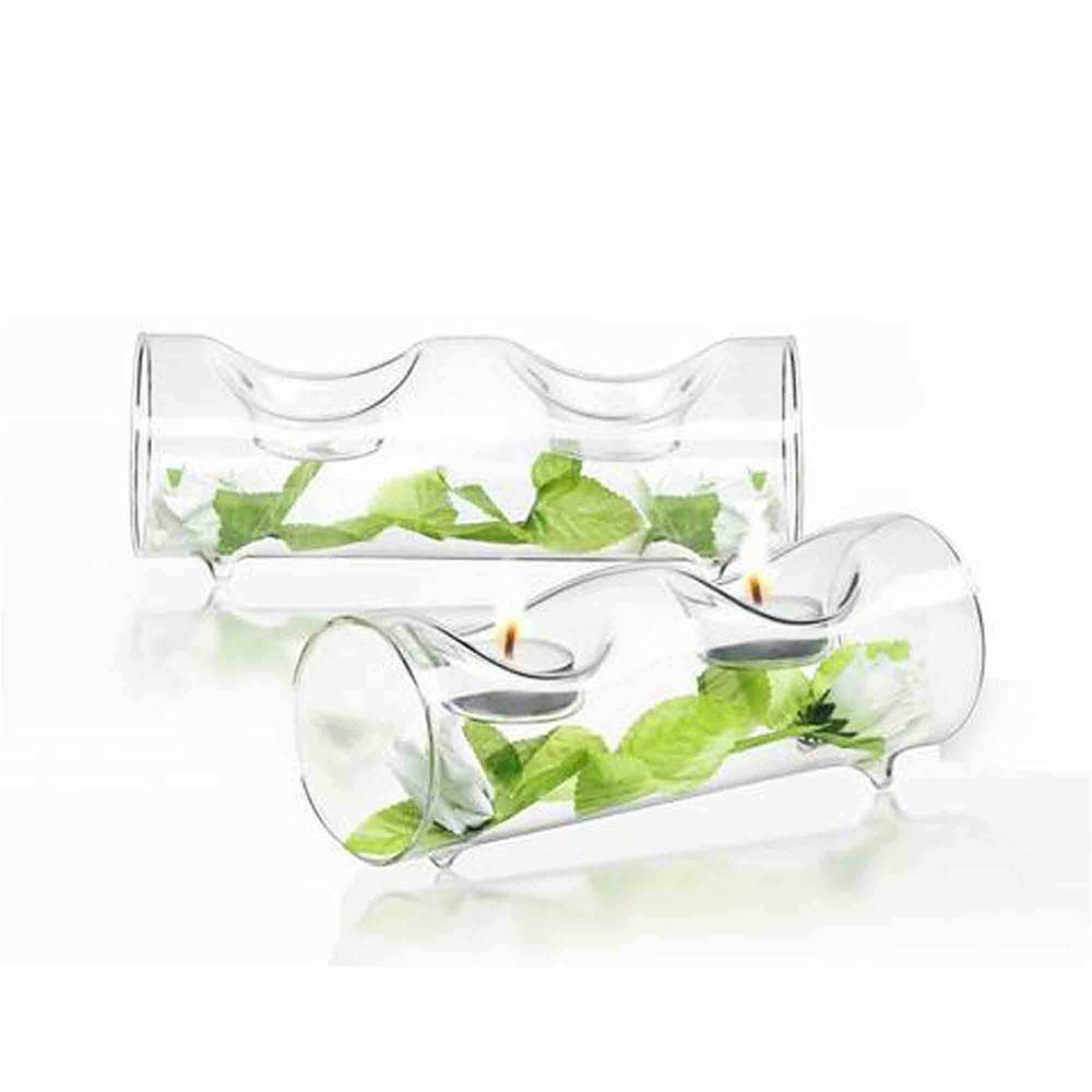 Ambient Double Candle Holder Set of 2