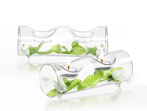 Set of 4 Ambient Tea Light Candle Holders