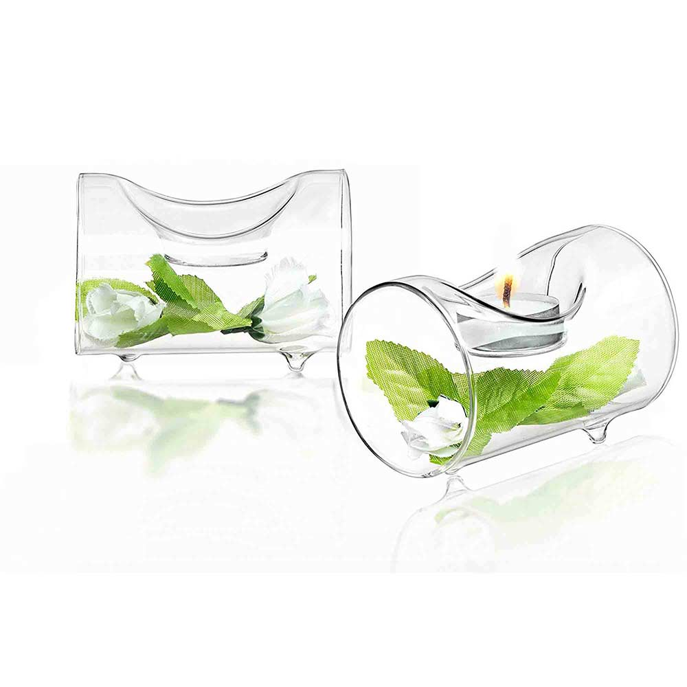 Ambient Single Candle Holder Set of 2