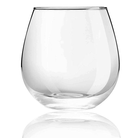 Spirits Stemless Wine Glasses Set of 4