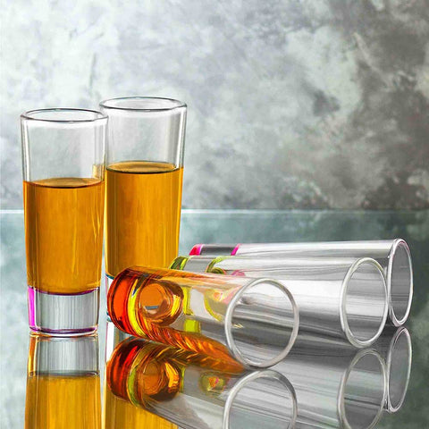 Hue Shot Glasses Set of 6