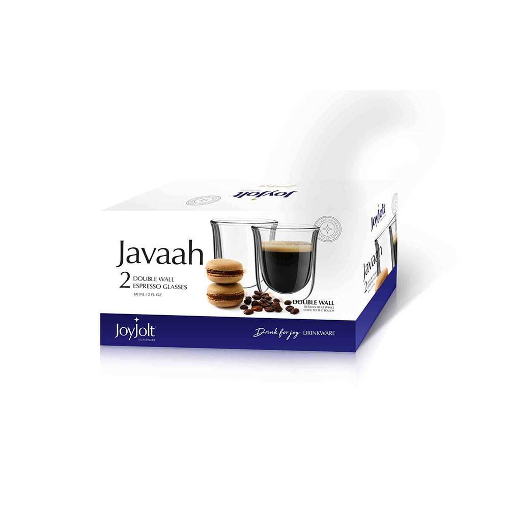 Javaah Double Wall Glasses Set of 2