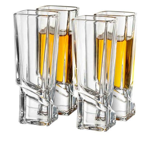 Carre<br/>Shot Glasses<br/>Set of 4