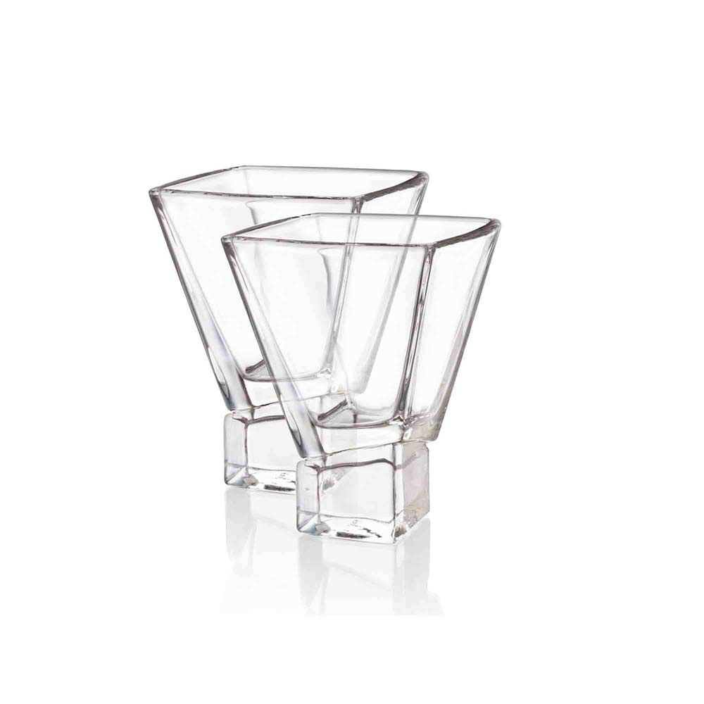 Carre Martini Glasses Set of 2