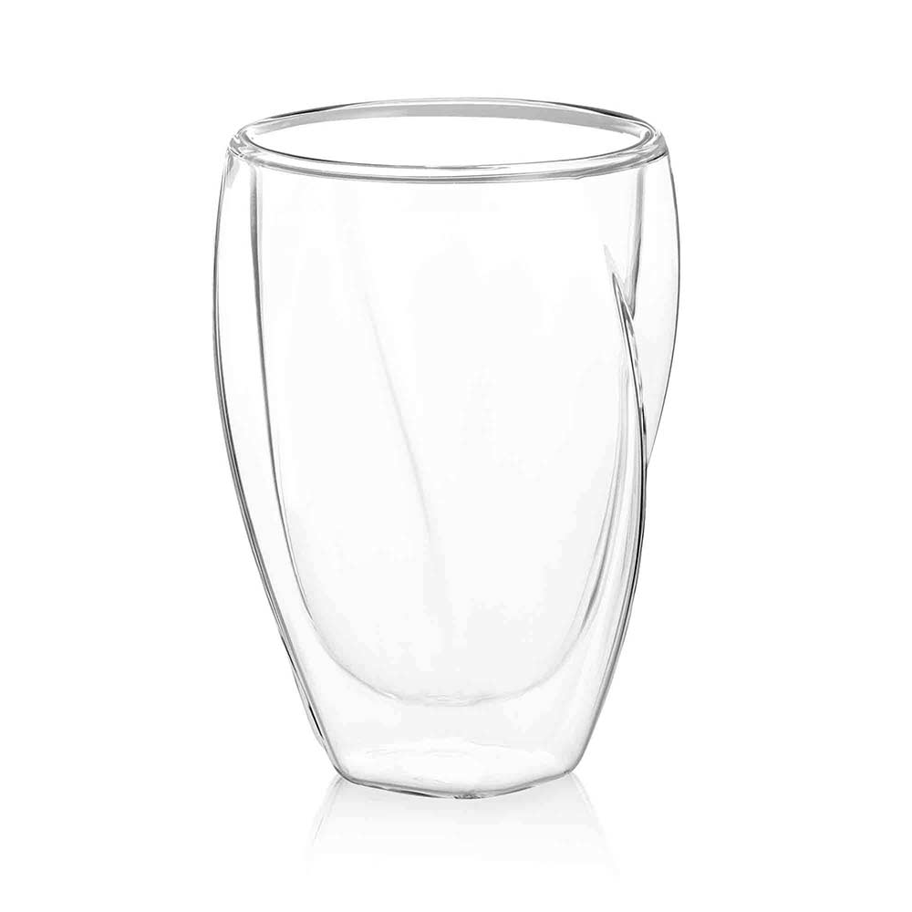 Lacey Double Wall Highball Glasses