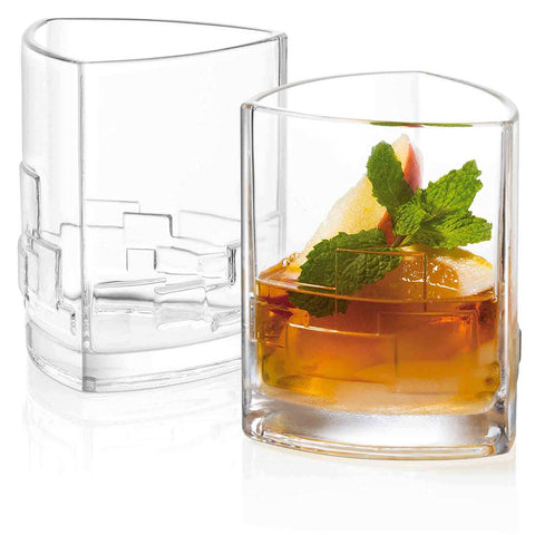 Revere Double Old Fashion Glasses Set of 2