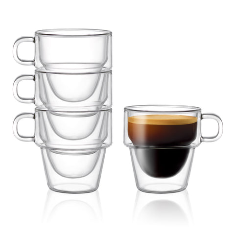 Stoiva Double Wall Glasses 5 oz