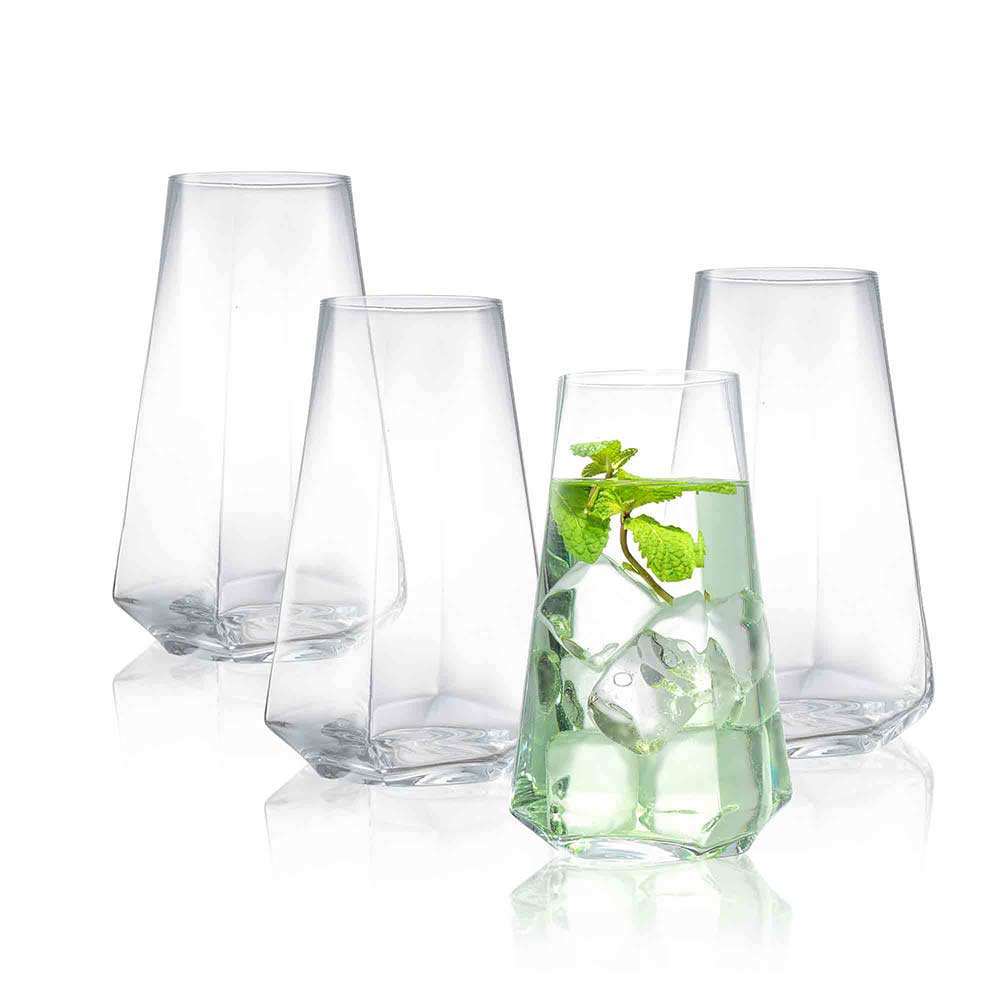 Infiniti Highball Glasses Set of 4