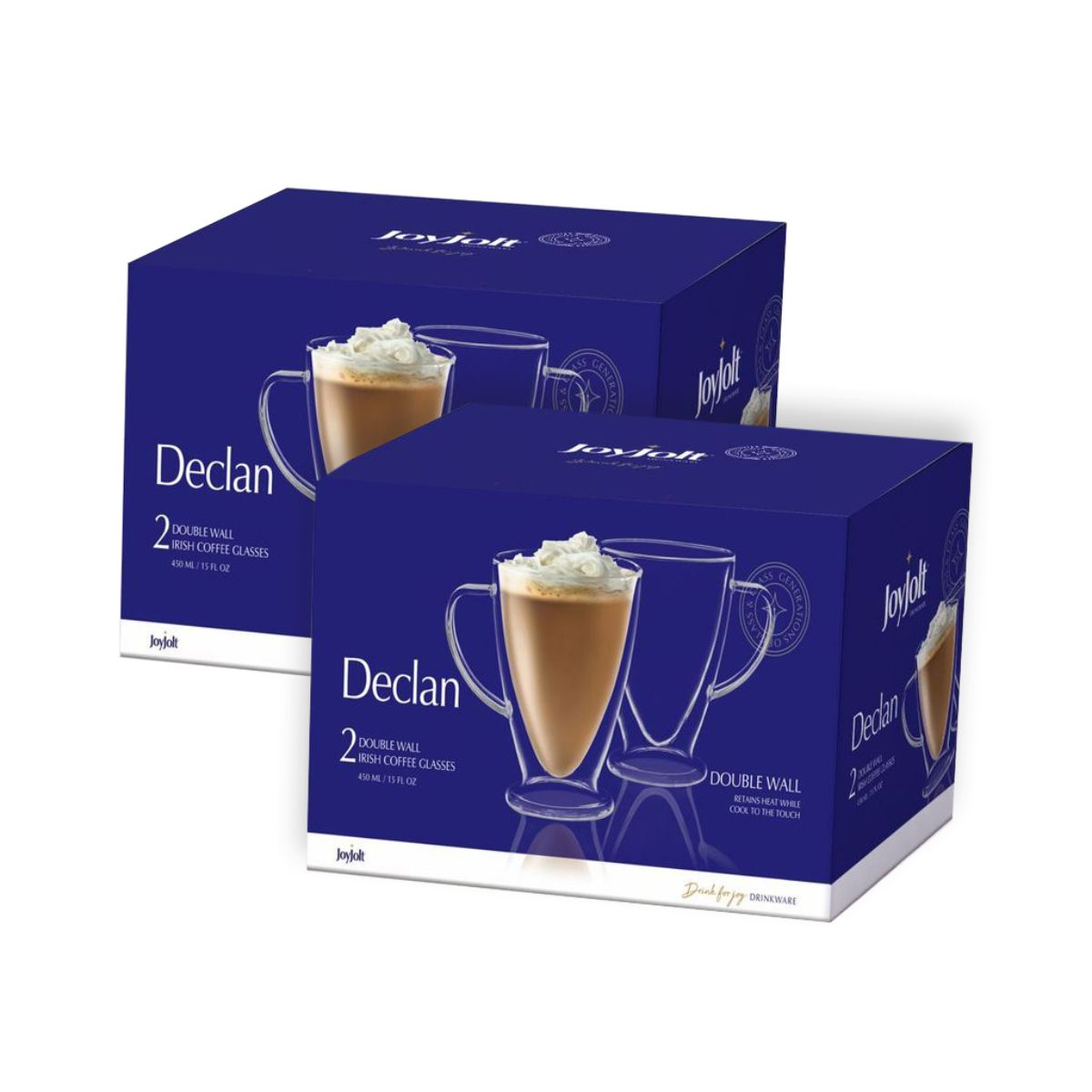 Declan Double Wall Glasses 15 oz