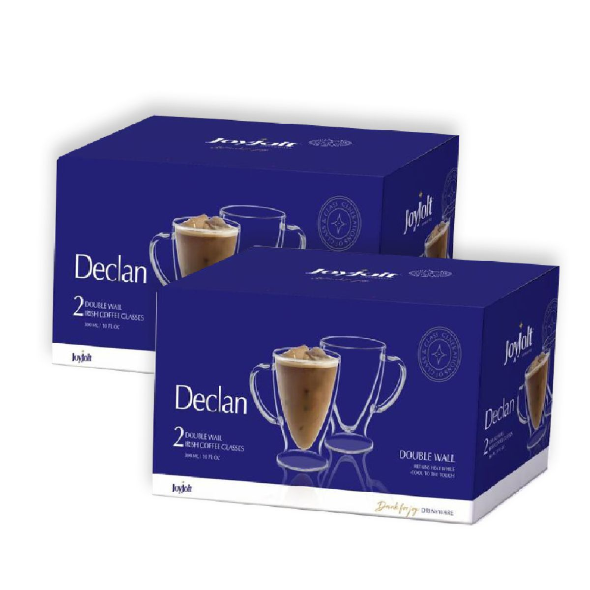 Declan Double Wall Glasses 10 oz