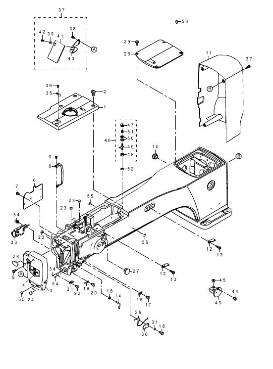 Ip 420 1 Frame Miscellaneous Cover Components 1