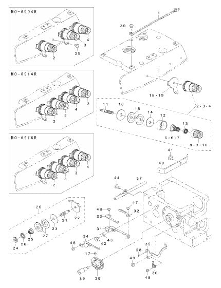 mo 6900r 13 thread tension components test abc sewing machine. Black Bedroom Furniture Sets. Home Design Ideas