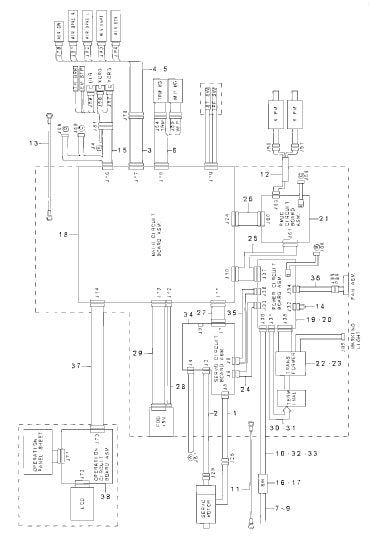 Sewing Machine Wiring Diagram