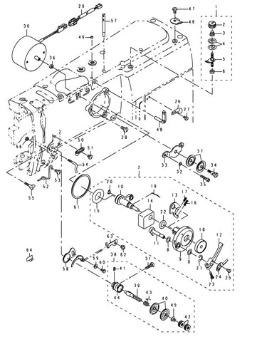 LBH-1700 Machine Parts