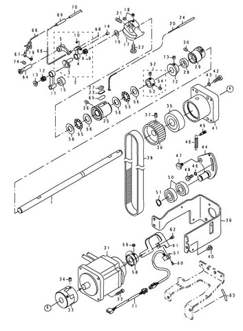 Lbh 1700 Machine Parts