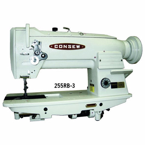 255RB Series CONSEW Heavy Duty 1-Needle, Triple Feed, Lockstitch Walking Foot