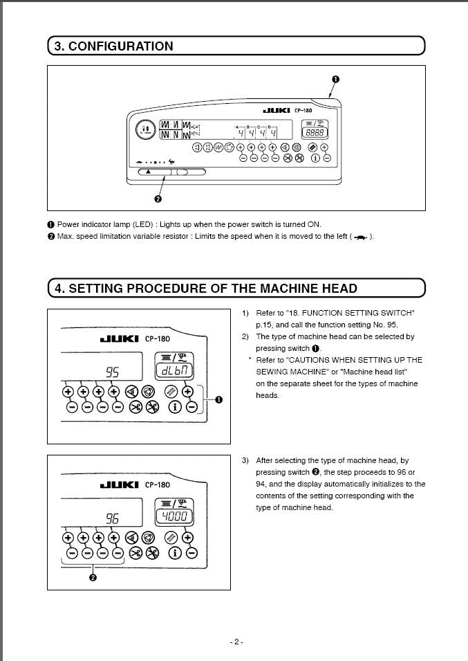 CP-180 Instruction Manual in PDF
