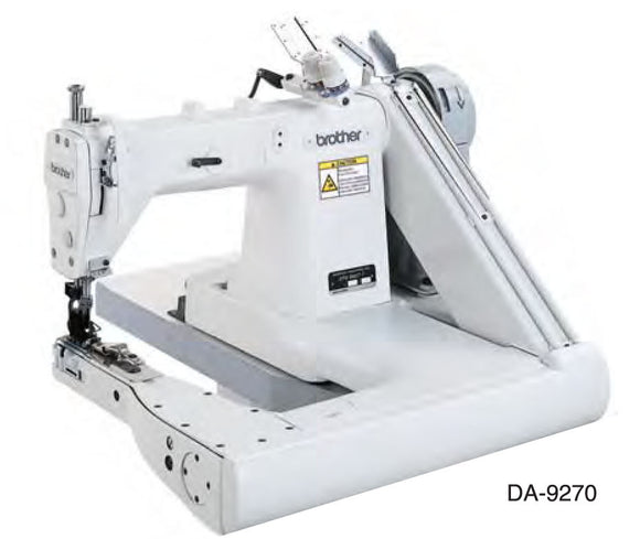 DA-9270 BROTHER 2-Needle Feed off the Arm Double Chain Stitcher