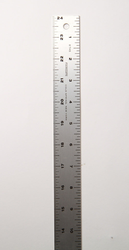 Fairgate aluminum ruler