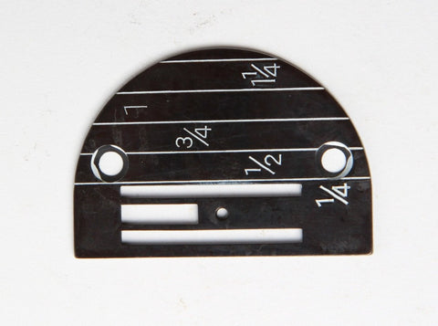 Needle plate with part model 143175