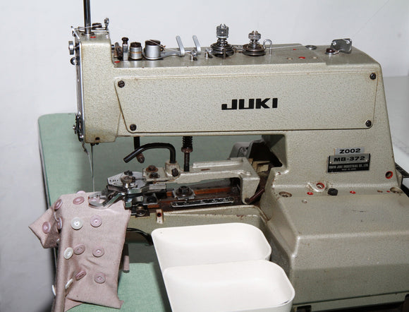 Used MB-372 Juki Buttonsew Machine