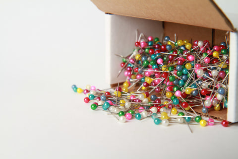 Box of ball pins